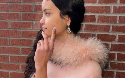 14K White Gold Diamond Chandelier Earrings at Barry's Estate Jewelry